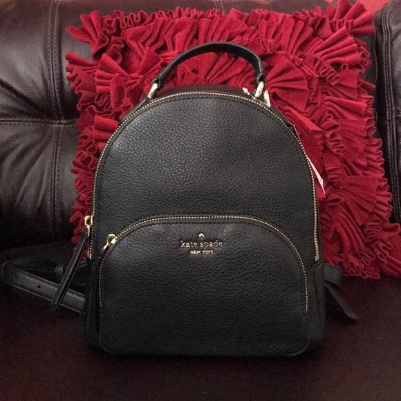kate spade Handbags - Kate spade leather backpack NWT